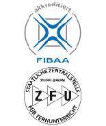 ZFU und Quacert Logo