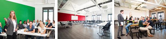 Seminarräume IST-Hochschule