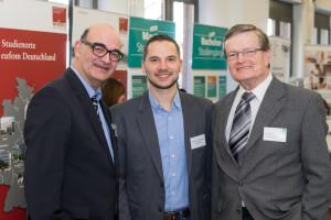 Die Initiatoren des Events von links nach rechts: Christoph Sochart, Patrick Schöwe und Wolfram Brecht.
