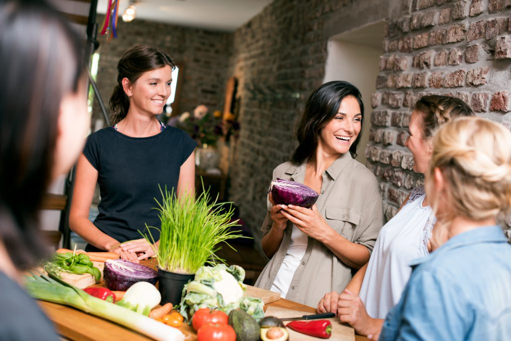 Ernährungsberater werden Gruppenbild