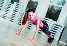 Fitnesstraining Liegestütze Push-ups