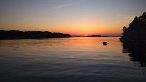 Sonnenuntergang deluxe in Norwegen.