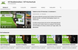 Youtube Seo: Screenshot von dem IST-Youtube Auftritt