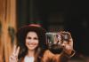 Influencer werden_Frau macht Selfie
