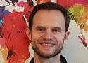 Patrick Kuhlmann von TripUp hat das Arbeitgeberstipendium entgegengenommen.