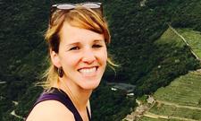 Bernadette Hauber studiert in Chile.