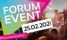 FORUM EVENT 2021: Erster Ausblick auf das offizielle Programm