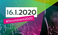 Jetzt schon vormerken: Forum Event 2020