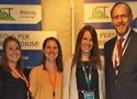 Prof. Dr. Felix Kempf besuchte mit 3 IST-Studentinnen den fvw Kongress.