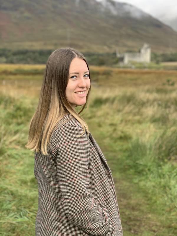 IST-Studentin Kathleen Müller absolviert trotz Corona ein Semester in Schottland.