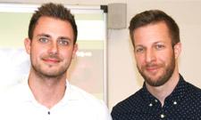 Jason Schmitt (links) und Patrick Seitter sind ein sehr erfolgreiches Tandem.