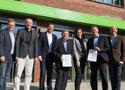 Erfolgreiche Vertragsunterzeichnung zwischen der IST-Hochschule und den Olympiastützpunkten Rheinland und Hessen.