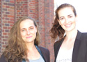Rebecca Kujawin und Viktoria Bechthold sind Sportaholix.