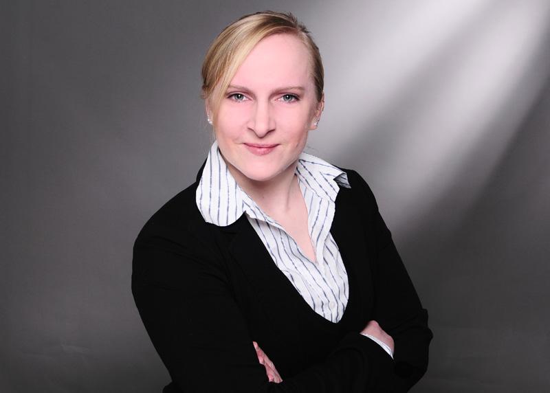 Master-Studentin Stefanie Schulz möchte sich stetig weiterentwickeln.