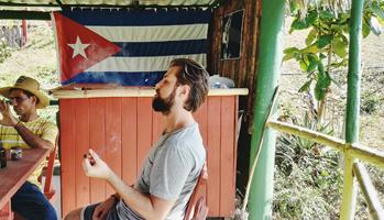 Philip Burk auf Kuba